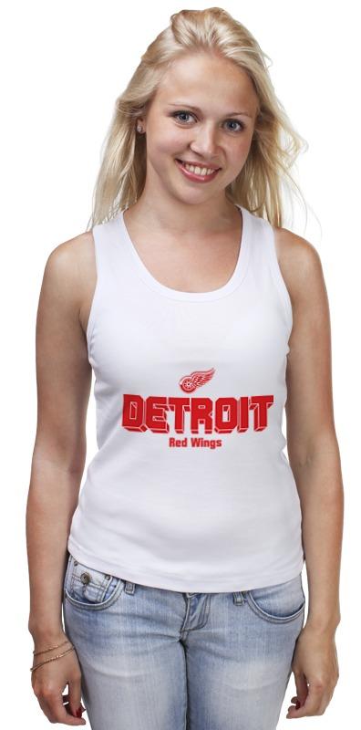 Майка классическая Printio Detroit red wings цена и фото