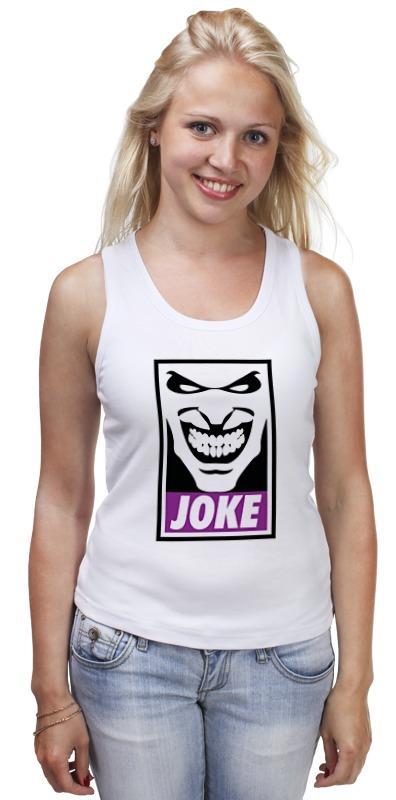 Майка классическая Printio Джокер (joke) майка классическая printio joke girl