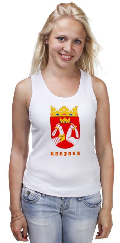 Майка классическая Printio Сортавала-карелия футболка классическая printio сортавала карелия