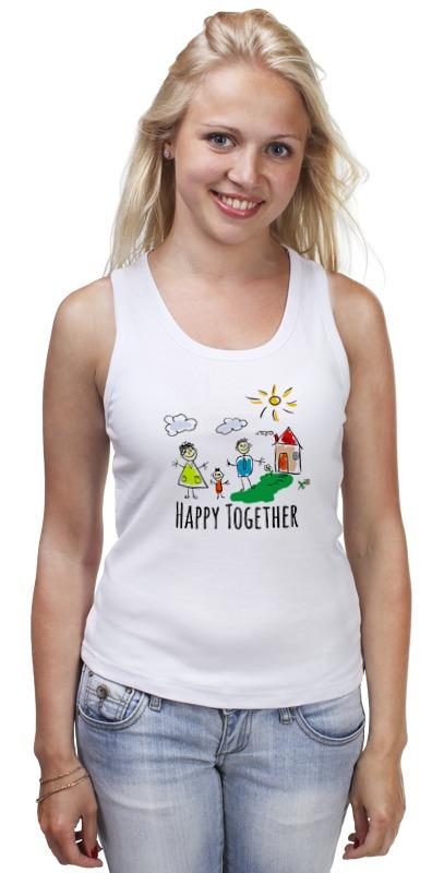 Майка классическая Printio Happy together майка print bar happy holiday