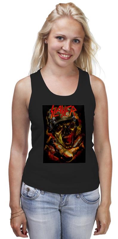Майка классическая Printio Slayer thrash metal band crested milanese loop strap metal frame for fitbit blaze stainless steel watch band magnetic lock bracelet wristwatch bracelet