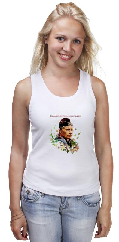 Майка классическая Printio Путин вежливые люди женское платье summer dress 2015cute o women dress