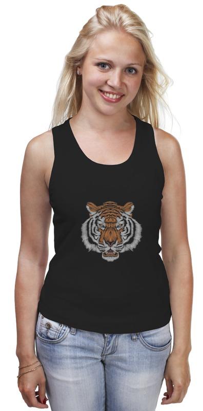 Майка классическая Printio Взгляд тигра хоук к в поисках тигра