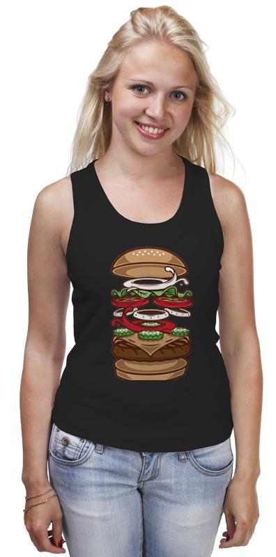 Майка классическая Printio Burger/бургер цена