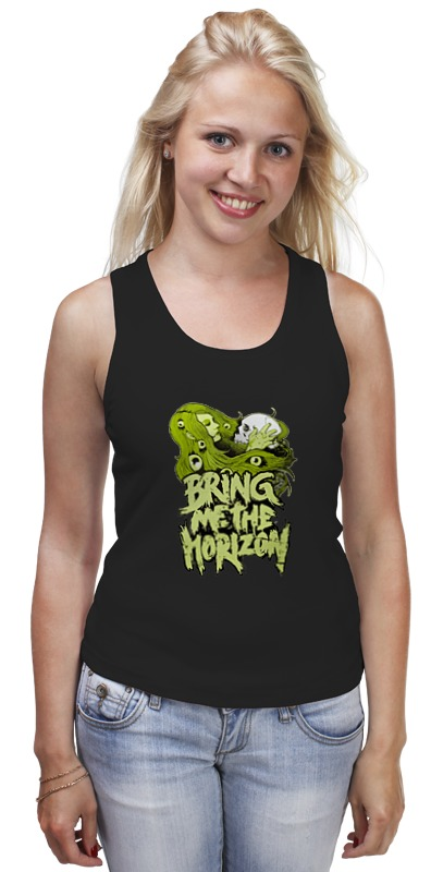 Майка классическая Printio Bring me the horizon футболка для беременных printio bring me the horizon