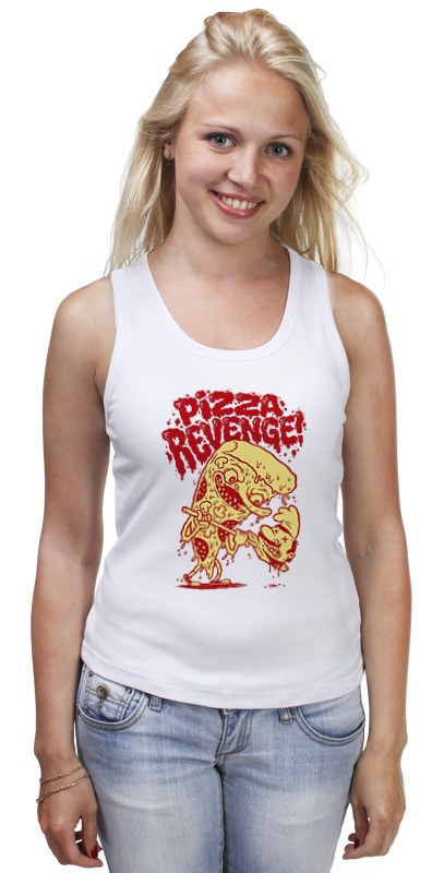 Майка классическая Printio Pizza revenge майка print bar flash pizza