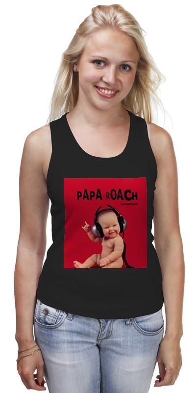 Майка классическая Printio Papa roach - lovehate tragedy album