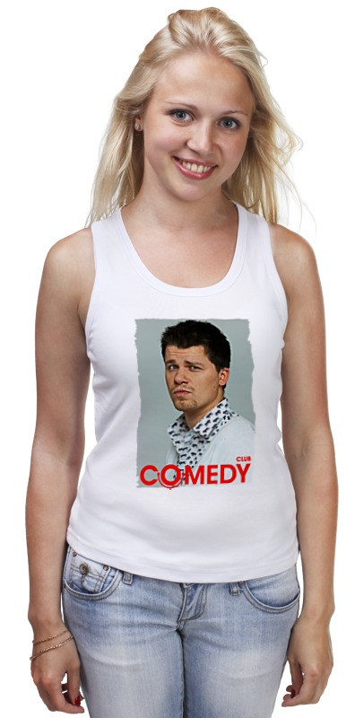 Майка классическая Printio Comedy club comedy club