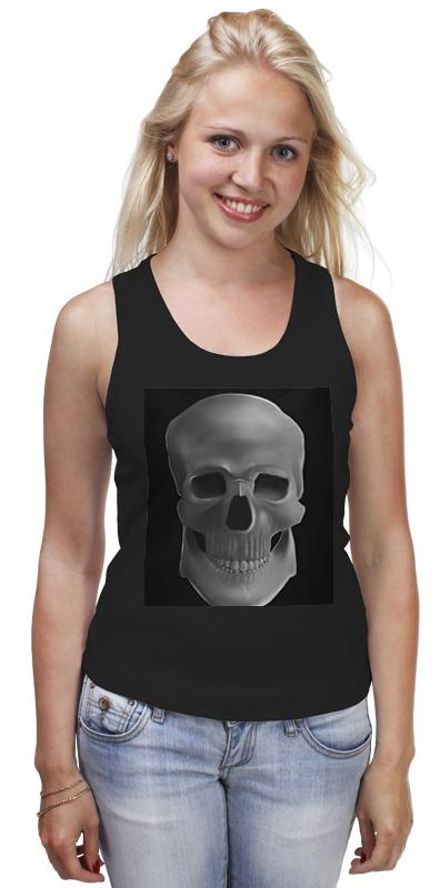 Майка классическая Printio Skull casual skull pattern decorative pillowcase without pillow inner