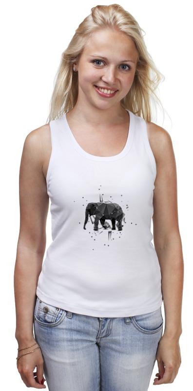 Майка классическая Printio Elephant