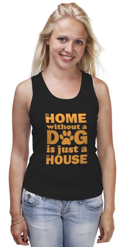 Майка классическая Printio Дом без собаки, не дом