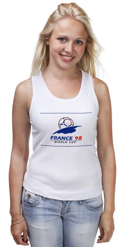 Майка классическая Printio Чемпионат мира по футболу 1998 чемпионат мира по регби 2019 франция сша