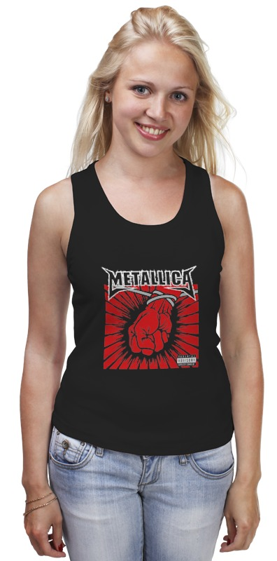 Майка классическая Printio Metallica / st. anger детская футболка классическая унисекс printio metallica  st anger