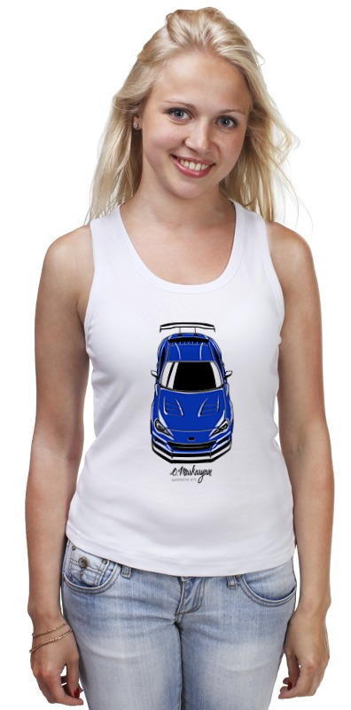 Майка классическая Printio Subaru brz туринг 1 10 rs4 sport 3 drift subaru brz
