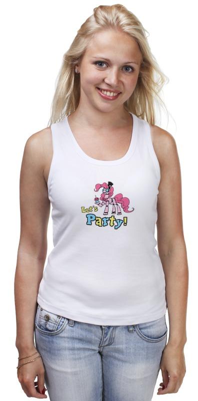 Майка классическая Printio Моя маленькая пони (my little pony) детская футболка классическая унисекс printio моя маленькая пони my little pony
