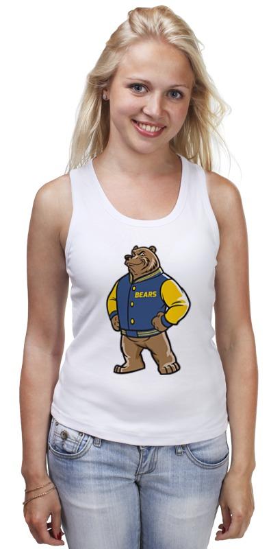 Майка классическая Printio Медведь