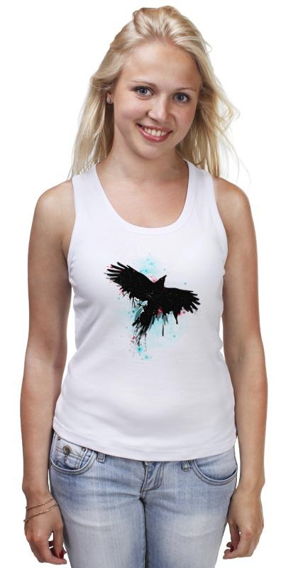 Майка классическая Printio Космическая птица майка классическая printio синяя птица