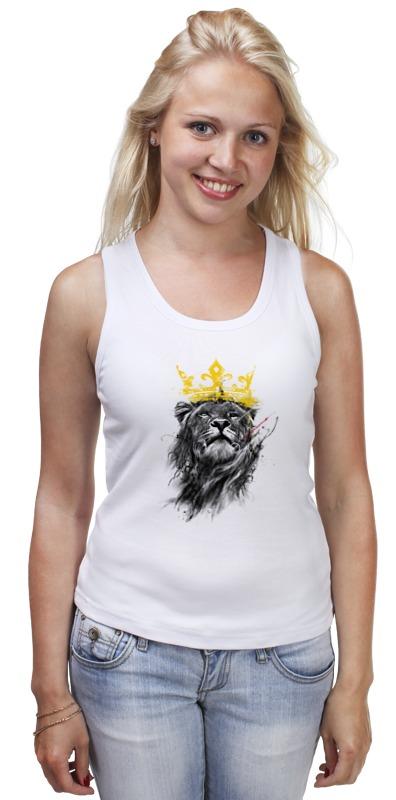 Майка классическая Printio Король лев майка классическая printio травяной король