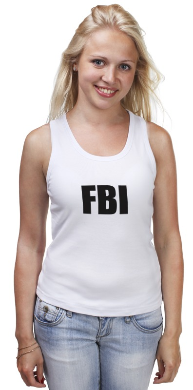 Майка классическая Printio Fbi agent franke fbi 722 xs