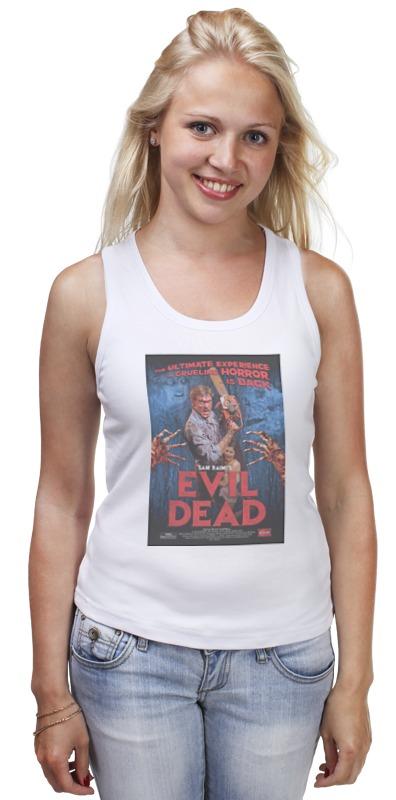Майка классическая Printio Evil dead / зловещие мертвецы футболка классическая printio evil dead зловещие мертвецы
