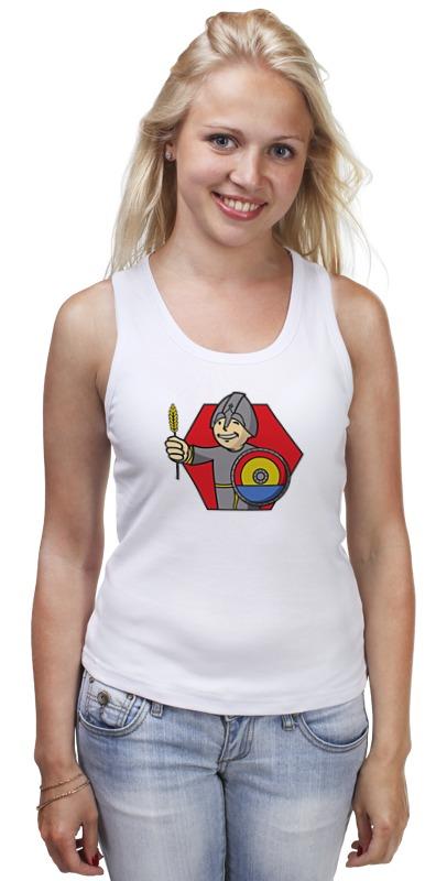 Майка классическая Printio Колонизатор (fallout) футболка классическая printio fallout фэллаут