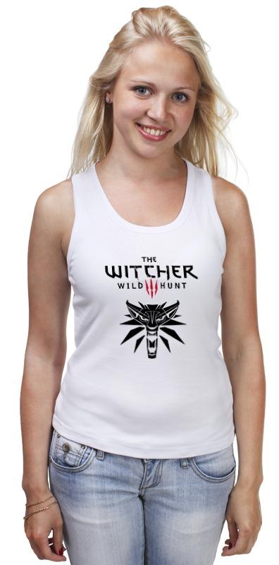 Майка классическая Printio Ведьмак 3: дикая охота худи print bar the witcher 3 wild hunt