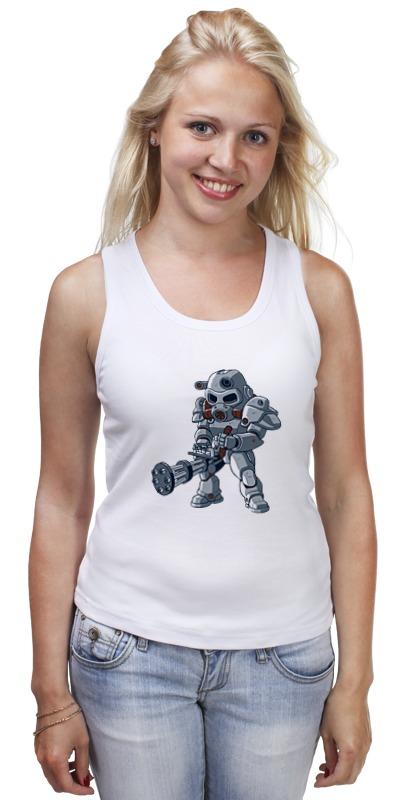 Майка классическая Printio Фоллаут (  fallout ) футболка классическая printio fallout фэллаут