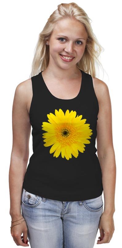 Майка классическая Printio Желтый цветок цена