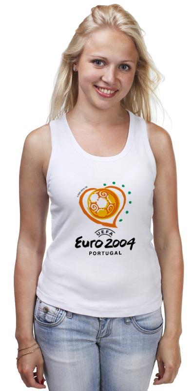 Майка классическая Printio Чемпионат европы по футболу 2004 gianna июня европы с высоким раунд с шу ци звезда blk полоса тонкая длинная рубашка холтер платье