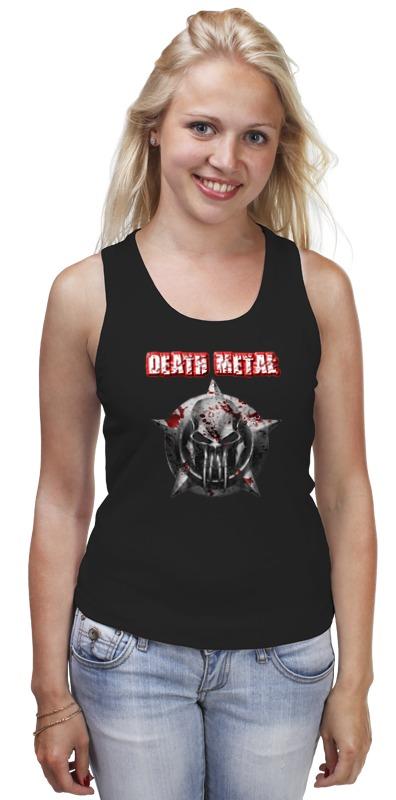 Майка классическая Printio Death metal майка классическая printio rainbow death metal
