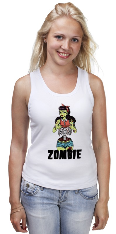 Майка классическая Printio Zombie girl майка print bar zombie iceream