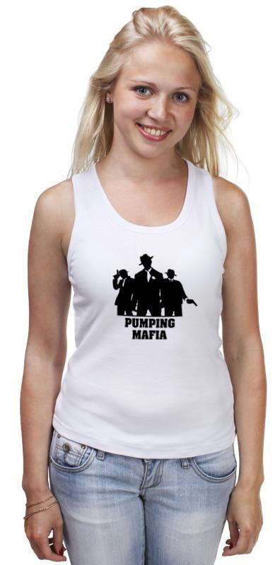 Майка классическая Printio Pumping mafia #1 футболка классическая printio pumping mafia 1