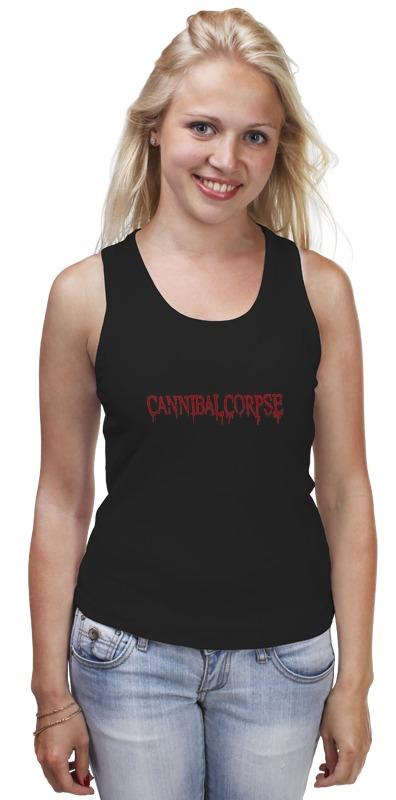 Майка классическая Printio Cannibal corpse logo