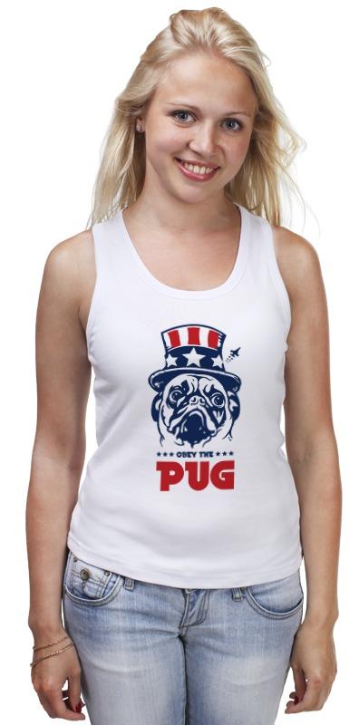 все цены на Майка классическая Printio Мопс президент (obey pug)