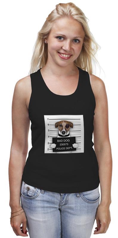 Майка классическая Printio Bad dog (плохой пес) сумка printio gta 5 dog