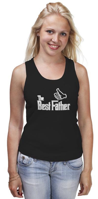 Майка классическая Printio The best father, лучший отец футболка wearcraft premium printio the best father лучший отец