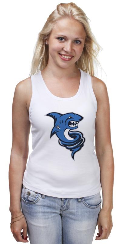 Майка классическая Printio Акула новые приобретения пол акула акула кашемир сгущаться мужской свитер