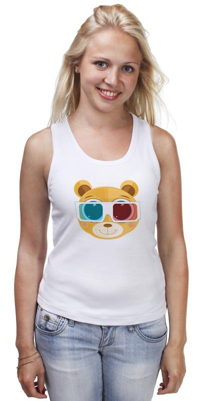 Майка классическая Printio Медведь 3д футболка 3д на барабашова
