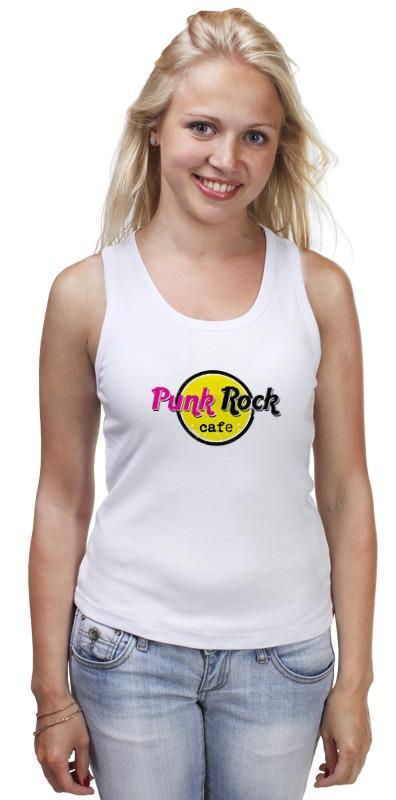 Майка классическая Printio Панк рок кафе футболка классическая printio панк рок кафе