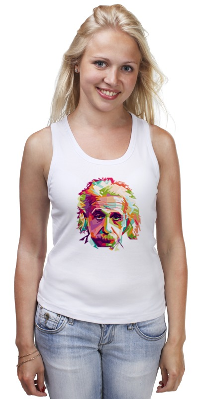 Майка классическая Printio Альберт эйнштейн (albert einstein) худи print bar albert einstein