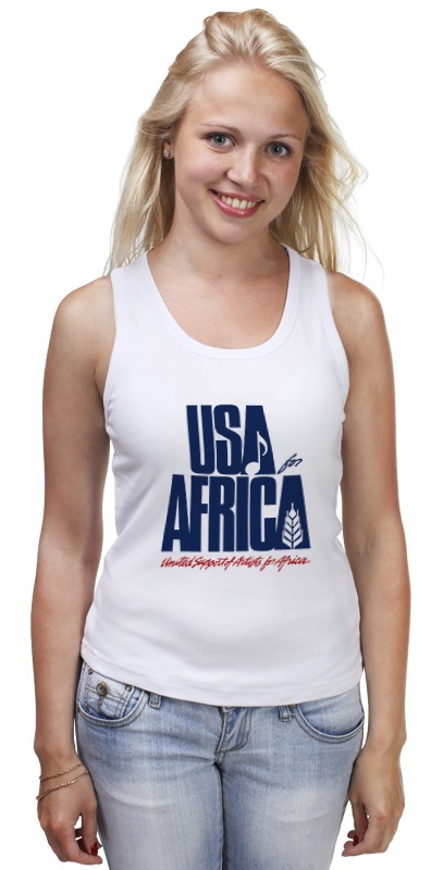 Майка классическая Printio Usa for africa лонгслив printio usa for africa