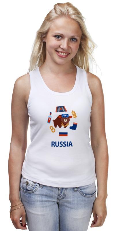 Майка классическая Printio Россия (russia) майка классическая printio kgb russia