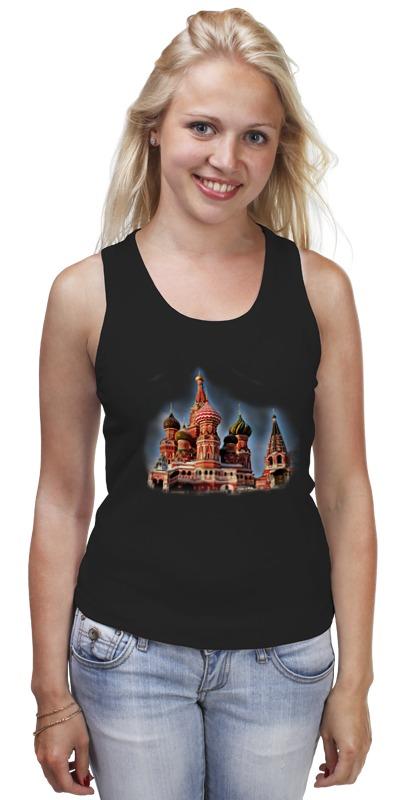 Майка классическая Printio Москва