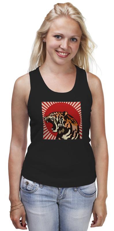 Майка классическая Printio Тигр арт пазл 360 арт терапия тигр 02349