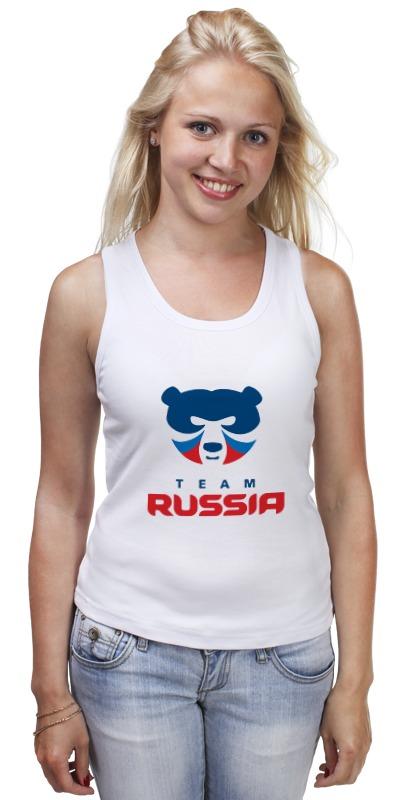 цена Майка классическая Printio Russia team