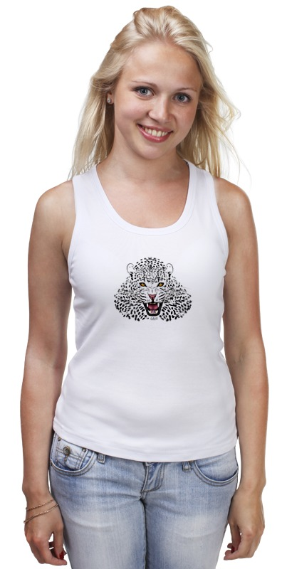 Майка классическая Printio Леопард майка классическая printio леопард