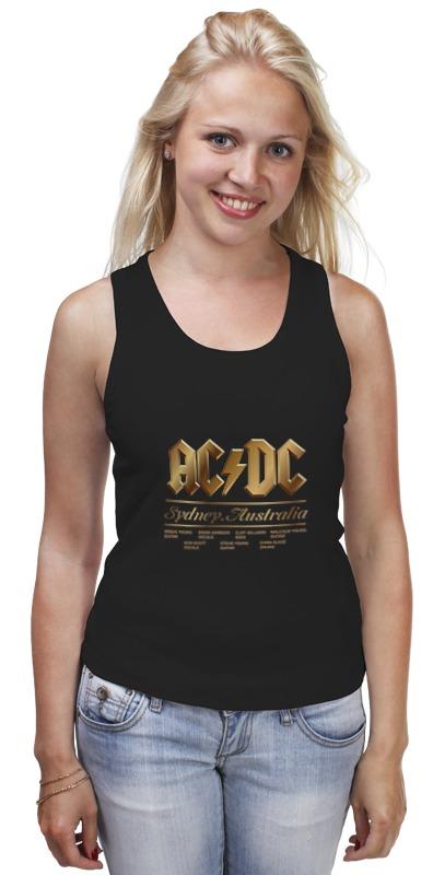 Майка классическая Printio Ac/dc ac dc ac dc rock or bust