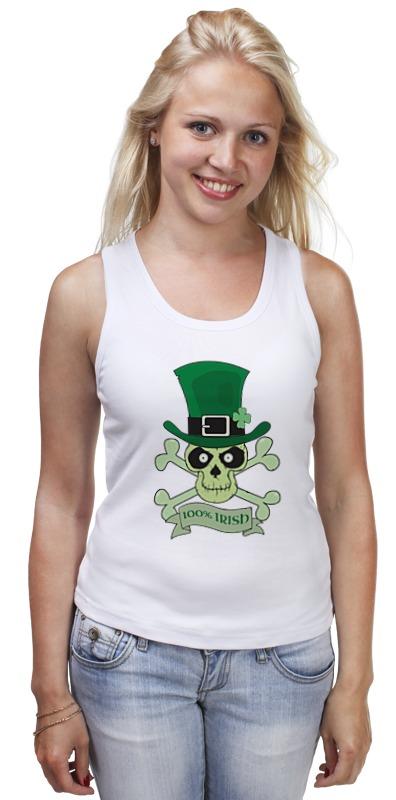 Майка классическая Printio Настоящий ирландец (100% irish) футболка стрэйч printio настоящий ирландец 100% irish