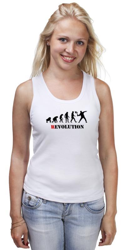 Майка классическая Printio Evolution - revolution майка борцовка print bar evolution family