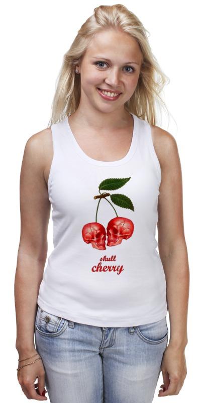 Майка классическая Printio skull cherry